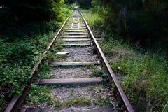 старый railway Стоковое Изображение RF