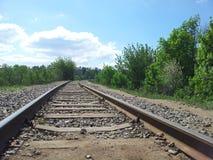 старый railway Стоковое фото RF