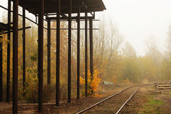 старый railway Стоковое Фото
