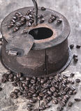 Старый roaster кофе Стоковые Фотографии RF