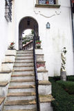 старый stairway стоковое изображение