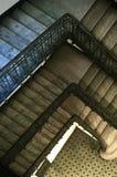 старый stairway Стоковые Фото
