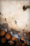 старый stairway Стоковые Фотографии RF