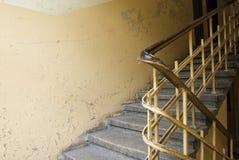 старый stairway стоковые изображения rf