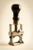 Старый stamper Стоковые Фотографии RF