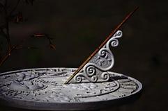 старый sundial Стоковые Изображения