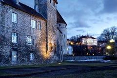 Старый Tallinn Стоковые Фотографии RF