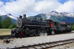 Старый touristic локомотив Стоковая Фотография