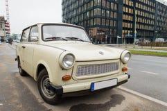 Старый trabant автомобиль стоковые изображения