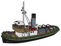 старый tugboat Стоковая Фотография