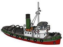 старый tugboat Стоковые Фото