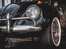 Старый VW Volkswagen Beetle Стоковые Изображения RF
