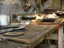 старый workbench Стоковые Изображения RF