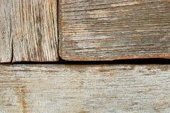 Старым деревянным предпосылка текстурированная спадом Стоковая Фотография