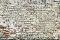 Старым покрашенная красным цветом текстура предпосылки кирпичной стены стоковое изображение rf