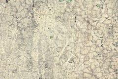 Старым стена треснутая годом сбора винограда Смогите быть использовано как предпосылка стоковая фотография rf
