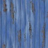 Старым стена треснутая шелушением деревянная безшовная Стоковая Фотография
