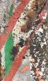Старым текстура покрашенная бетоном Стоковое Фото