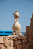 2 старых глиняного кувшина Стоковое фото RF