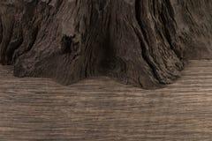 4 старых деревянных доски на белой предпосылке старая древесина планки Стоковые Изображения