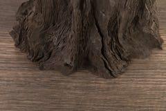 4 старых деревянных доски на белой предпосылке старая древесина планки Стоковое Изображение