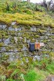 2 старых коробки почты Стоковая Фотография