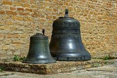 2 старых колокола Стоковое Изображение RF