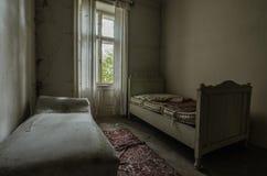 2 старых кровати Стоковое Изображение RF