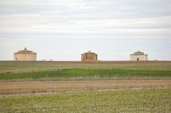 3 старых dovecotes, Zamora, Испания Стоковые Фотографии RF