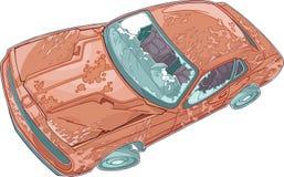 старье автомобиля иллюстрация вектора