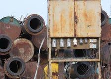 Старье металла стоковая фотография rf