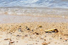 Старье на пляже стоковая фотография