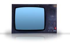 старье старый tv стоковые фото