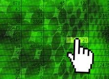 статистик математики иллюстрации принципиальной схемы Стоковое фото RF