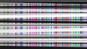 статический вектор tv Стоковая Фотография