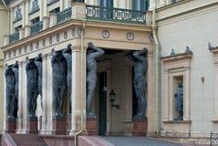 Статуи Атлантиды. Стоковое Фото