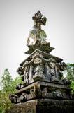 Статуи бога на виске в Бали Стоковое фото RF