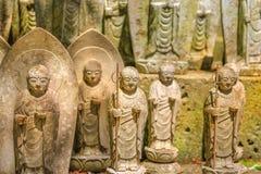 Статуи бодхисаттвы Jizo Стоковое Изображение
