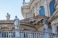 Статуи больших актеров в Будапеште Стоковое Изображение RF