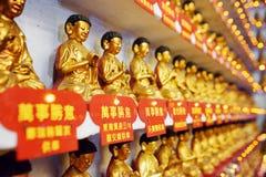 статуи Будды золотистые Стоковое Изображение RF