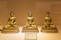 статуи Будды золотистые Стоковое Изображение