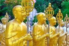 статуи Будды золотистые Стоковые Изображения RF
