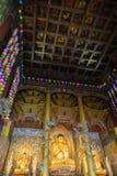 Статуи Будды на виске Yakchunsa на острове Jeju Стоковые Фотографии RF