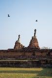 Статуи Будды, Wat Chai Watthanaram, Ayutthaya, Таиланд Стоковые Изображения RF