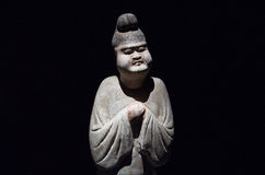 Статуи в династии тяни Стоковая Фотография RF