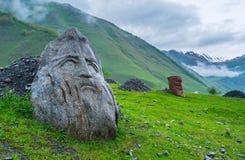 Статуи в ущелье Sno Стоковые Изображения RF