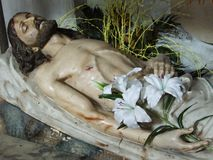 Статуи Иисуса Христа стоковые изображения