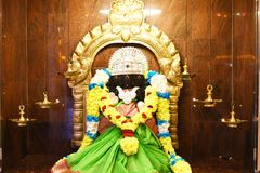 Статуи индусских богов стоковые изображения rf