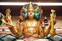 Статуи индусских богов стоковое фото