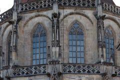 статуи и детали церков Стоковые Фотографии RF